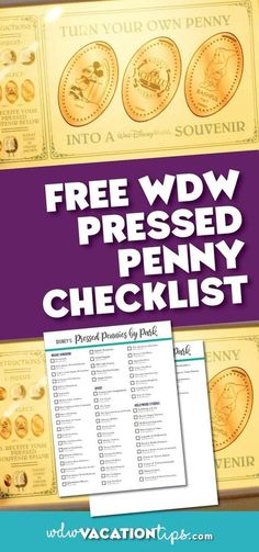 Where to Find Pressed Penny Machines in Disney World - Walt Disney World - While this souvenir is one of the cheapest if you wanted to collect them all it is going to cost yo - Disney Resorts, Disney Parks, Disney Souvenirs, Disney Bound, Disney World Vacation Planning, Walt Disney World Vacations, Disney Planning, Disney Travel, Vacation Ideas
