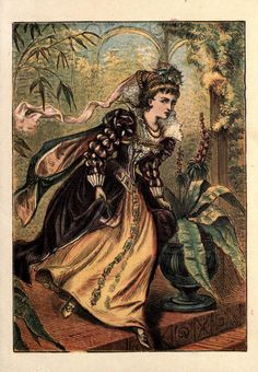 Cinderella (from a book published between 1865 and 1889)