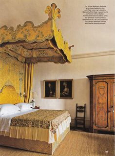 Villa Centinale the 17th-century Tuscan residence of Ned and Marina Lambton, the Earl and Countess of Durham. Designed by Carlo Fontana for a nephew of Pope Alexander VII, the house was restored by architect Bolko von Schweinichen and interior designer Camilla Guinness.