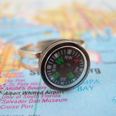 Fab.com | Compass Earrings and Ring Set
