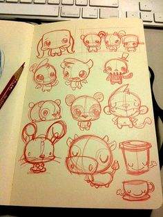 Page o' sketches