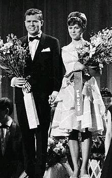 Grethe & Jørgen Ingmann winnen het Eurovisie Songfestival 1963