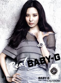 Seohyun Seo Joohyun of Girls' Generation #SNSD for Real Baby-G 2013