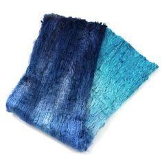 Blue Silk Cocoon Sheet Fabric Hand Dyed 12602 Hand dyed by www.sallyridgway.com #feltingsupplies #wetfeltingfibre #indiedyer #fibreartist #handdyedsilk #madeinaustralia #sallyridgway Wet Felting, Needle Felting, Felt Projects, Mulberry Silk, Texture Art, Fiber Art, Mixed Media, Australia, Colour