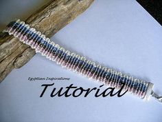 Micro macrame patttern tutorial. Beaded by EgyptianInspirations, $5.99