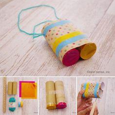 トイレットペーパーの芯で子供とクラフト遊び!簡単に作れるおもちゃ8選 | CRASIA(クラシア)