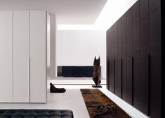 The Bedroom Tattoo Wardrobe Design with Wooden Textured Doors Home - Contemporary italian wardrobe