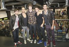 The Wanted @ hmv Dundrum, Ireland