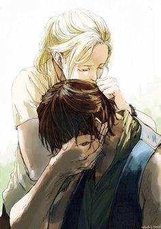 Aelin and Dorian