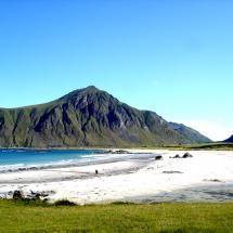 Beach in Lofoten Islands, Norway