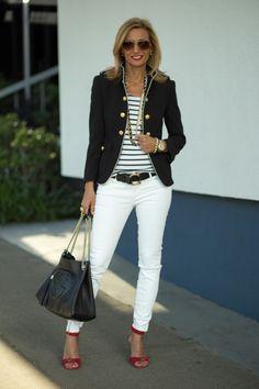 #Summer Denim: Ways to #Style White #Jeans ...