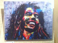 Bob Marley 'Close up' seen by EDERY MICHAEL - art55.ca