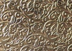 Items similar to Brass Sheet Textured Metal Sheet Lotus Flowers Pattern - 6 x 2 inches Bracelets Pendants Metalwork on Etsy Bronze, Nickel Silver, Metal Embossing, Diy Solar, Sheet Metal, Soldering, Metal Jewelry, Types Of Metal, Precious Metals