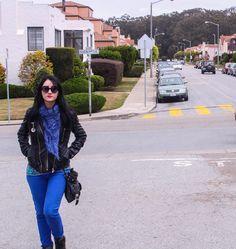 Walking in SFO.