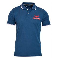 Avenster Blue Polo T-shirt-₹349.00