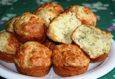 Muffin, Ricotta, Baked Goods, Baked Potato, Food And Drink, Sweets, Meals, Baking, Breakfast