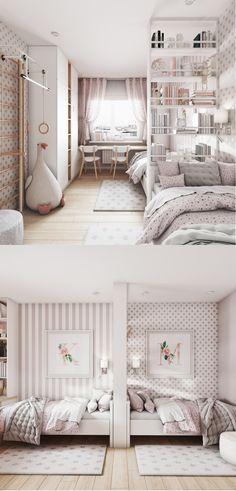 Home Room Design, Room Design, Room Inspiration Bedroom, Cool Rooms, Room Design Bedroom, Cute Bedroom Ideas, Girl Bedroom Decor, Cozy Room Decor, Themed Kids Room