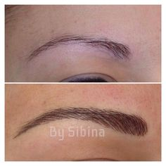 What is Microblading? Check Out Permanent Makeup Eyebrows, Eyebrow Makeup, Beauty Makeup, Hair Makeup, Hair Beauty, Eye Brows, Permanent Eyebrow Tattoo, Makeup Tattoos, Tattoo Eyebrows
