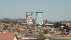 Picture of towers in Soweto, South Africa. Towers, Marina Bay Sands, San Francisco Skyline, South Africa, Dolores Park, Places To Visit, Pictures, Travel, Tours