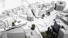 Διακριθείσες μελέτες του Αρχιτεκτονικού διαγωνισμού για την Πλατεία Εμπορίου Σερρών