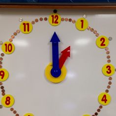 Using money to help teach time.  Pennies for 1 min. and nickles for 5 min. Intervals.