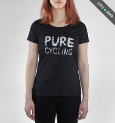 Pure Cycling Anthracite T-shirt