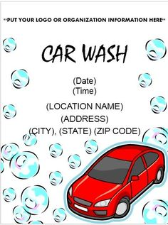 Dont miss your chance to get a free car wash tomorrow community like all other business car wash business also needs advertisement to get maximum rating and customers car wash flyer is a powerful tool to make people solutioingenieria Images