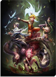 Naruto Shippuden Anime Canvas
