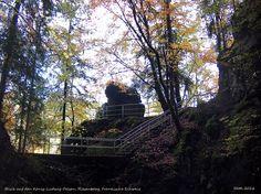 König-Ludwig-Felsen, Riesenburg, Fränkische Schweiz, Bayern, Deutschland
