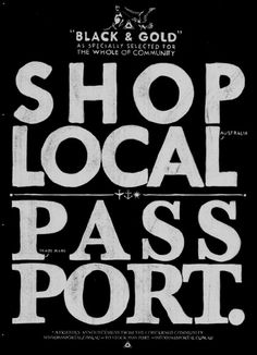 Shop local need a passport?