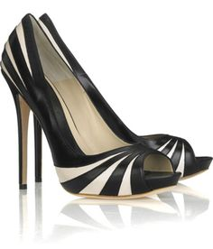 Alexander McQueen pumps - I have these in bronze & Ivory though.  Another jewel in my shoe collection :)