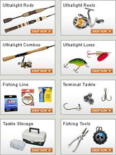 Ultralight Fishing Gear and Tackle