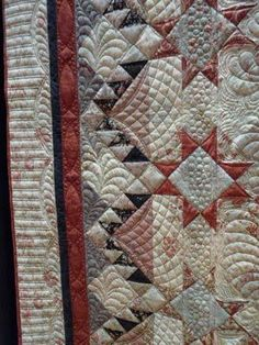 borders and the quilting