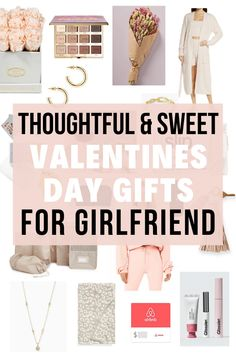 The best Valentine's Day Gifts for Girlfriend gift guide you'll find! Love this.
