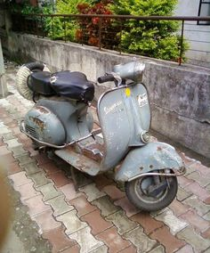 Unrestored beauty - All things Lambretta & Vespa