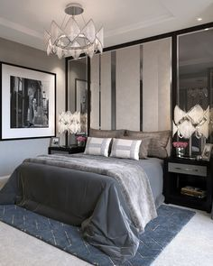 The Bedroom is our throne , be inspired with this fantastic ideas ! #BedroomIdeas #LuxuryFurniture #LuxuryLifestyle #HomeDecor #DesignInspiration #DesignProjects