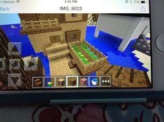 Minecraft house I made!!!