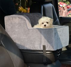 "Pet Car Seat 20"" Dog Puppy Cat Safety Soft Seats Lookout Vehicle Chair Transport #PawHut"