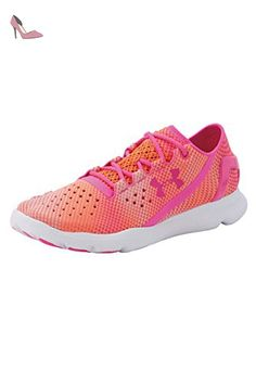 Under Armour  UA W Speedform Apollo Pixel, Chaussures de course femmes - Orange - Orange (CBO 831), 38,5 EU - Chaussures under armour (*Partner-Link)