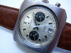 Vintage Junghans Chronograph Stopwatch Working, Runs Perfectly Omega Watch, Chronograph, 1970s, Panda, Watches For Men, Steel, Accessories, Vintage, Ebay