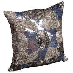 I pinned this Augusta Pillow in Silver from the Graphic & Metallic event at Joss and Main!