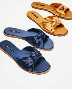 More sandals with pizzazz.