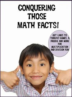 Get links to great math fact practice sites on this post, plus a multiplication game freebie!