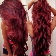 Such a pretty hair color!  What do you think?  Or ?