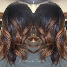 Image result for chocolate brown hair with caramel ombre