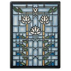 Waterlilies - Light Blue (6X8)
