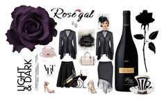 """""""ROSEGAL"""" by diamond-mara ❤ liked on Polyvore"""