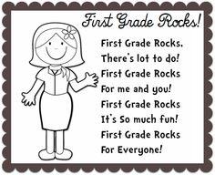 Enjoy Teaching English: BACK TO SCHOOL poem (First Grade Rocks)
