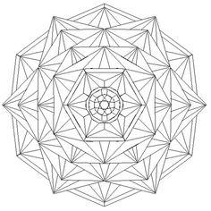 Crystal mandala by mandalamama on DeviantArt Coloring Book Art, Mandala Coloring Pages, Colouring Pages, Mandala Drawing, Mandala Art, Crystal Mandala, Chip Carving, Carving Wood, Free Adult Coloring