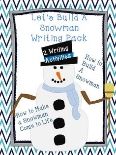 My students LOVED this winter themed how-to packet!